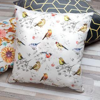 Bird Pattern personalised Luxury cushion