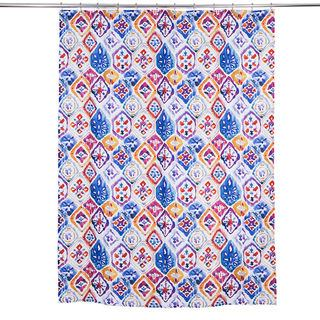 Bathroom Colourful pattern shower curtain
