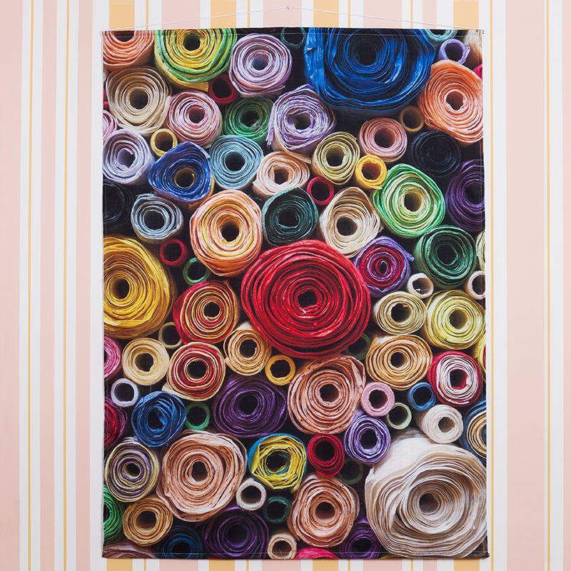 Fabric Wall Hangings Customised Hanging Photo Display Uk