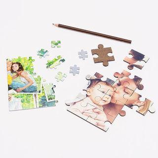 dettagli pezzi puzzle personalizzati