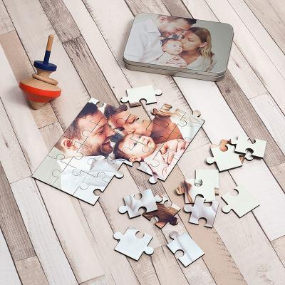gepersonaliseerde foto puzzels