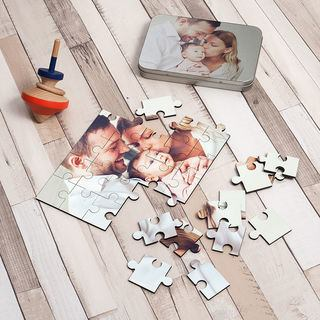 New Baby Jigsaw Puzzle photo print