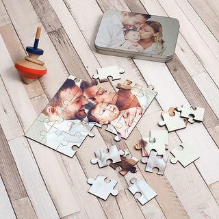 Puzzle photo de famille