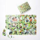 family montage 1000 piece custom photo jigsaw