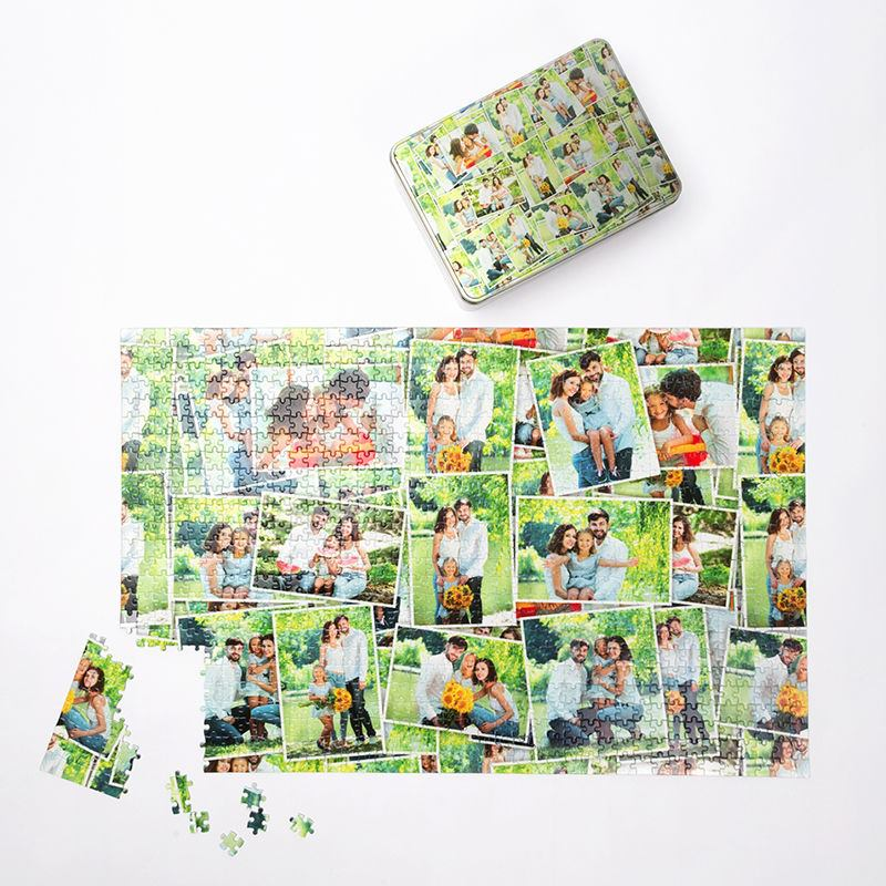 Personalised Photo Puzzles Custom Jigsaws In 3 Sizes