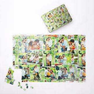 family montage 1000 piece custom photo jigsaw