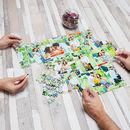 puzzle photo personnalis avec bo te en m tal 30 96 ou. Black Bedroom Furniture Sets. Home Design Ideas