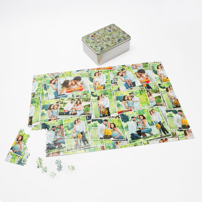 collage jigsaw puzzle printing
