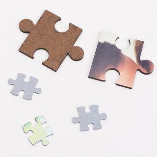 Zoom sur puzzle personnalisable