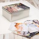Cajas metálicas para galletas con fotos