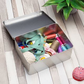 Sewing storage box useful large deep