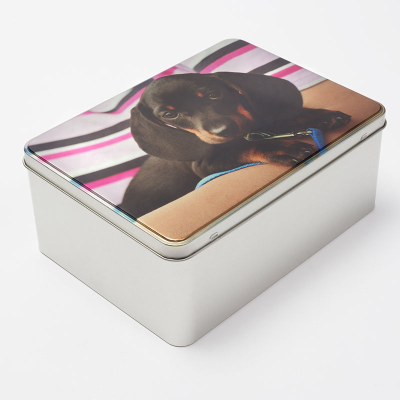 Personalized cookie Tin