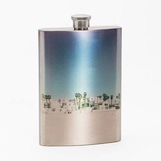 Holiday design your own personalised photo flask