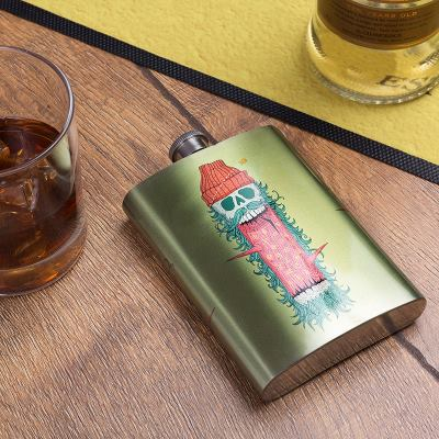 custom hip flask