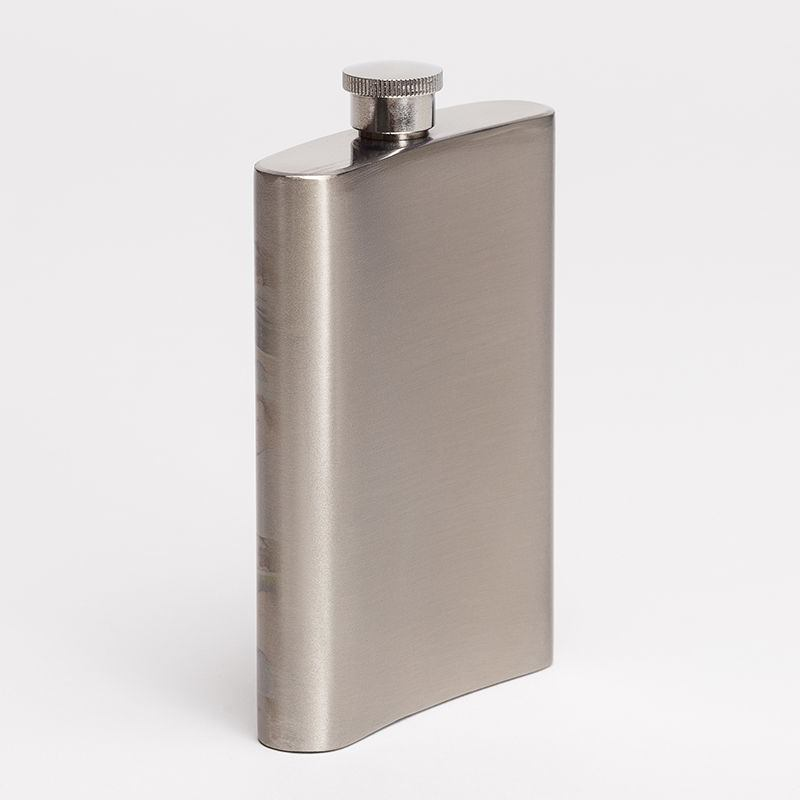 Personalised Hip Flask With Photo And Text Custom Hip Flask