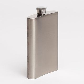 Metal drinking hip flask design persoanalised