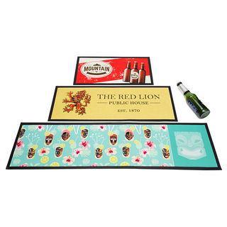 diverse misure tappetini bar personalizzati