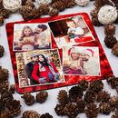 sottobicchieri puzzle con foto regalo natale