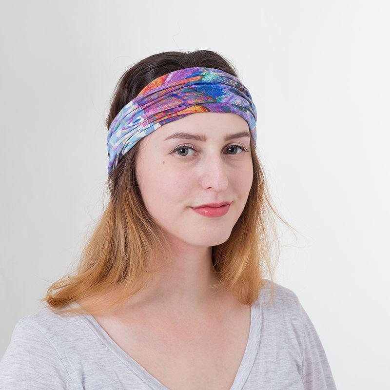 sciarpa pashmina tubolare per donna