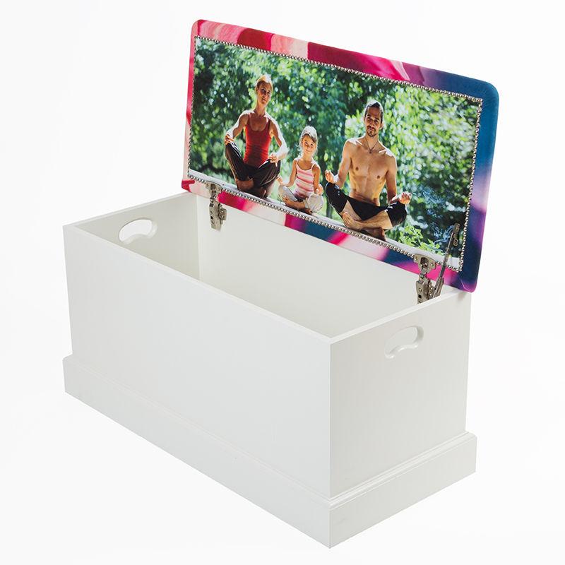 coffre jouets personnalis id e cadeau photo. Black Bedroom Furniture Sets. Home Design Ideas
