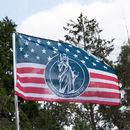 Photo de drapeau personnalisé usa