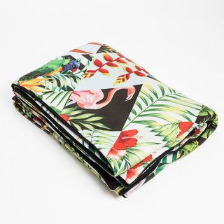 tropical design picture blanket