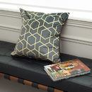 Luxury cushion designer print