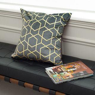 Luxury cushion designer print