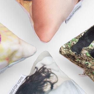 Fabric corner comparisons Luxury Cushions