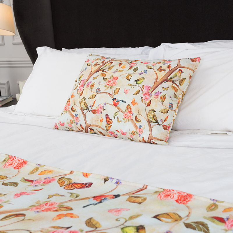 coussin imprim avec designs impression sur coussin pour designer. Black Bedroom Furniture Sets. Home Design Ideas