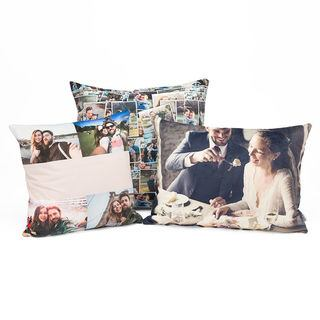 personalised cushions in 3 different sizes to suit all homes and families