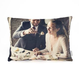personalised photo cushions with wedding picture is sweet anniversary gift