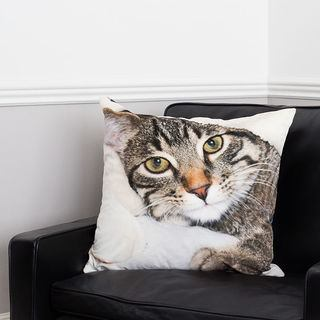 animal printed custom throw pillows