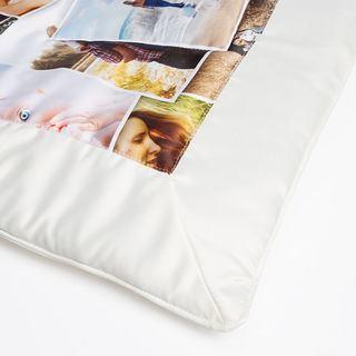 Quilt corner fabric satin print quilt in UK