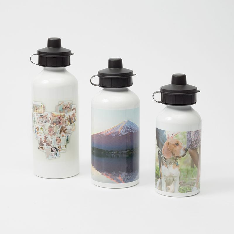 Water Bottle Volume: Personalised Water Bottle. Print Your Photo On Water Bottle