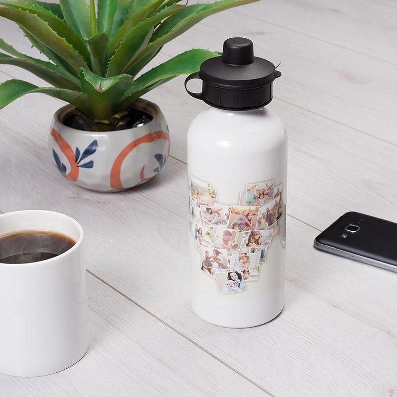 bouteille personnalisable gourde personnalis e avec photo. Black Bedroom Furniture Sets. Home Design Ideas