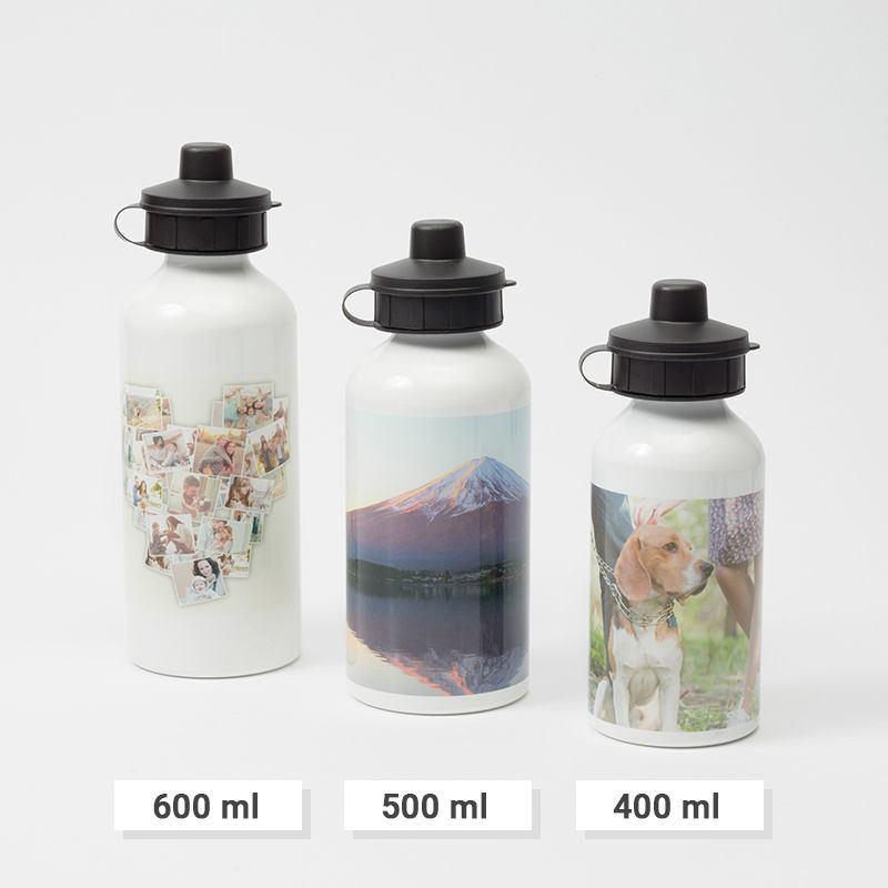 custom water bottles design your own water bottle in 3 sizes