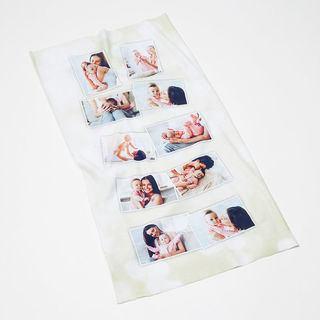 Montages photos sur écharpe tube