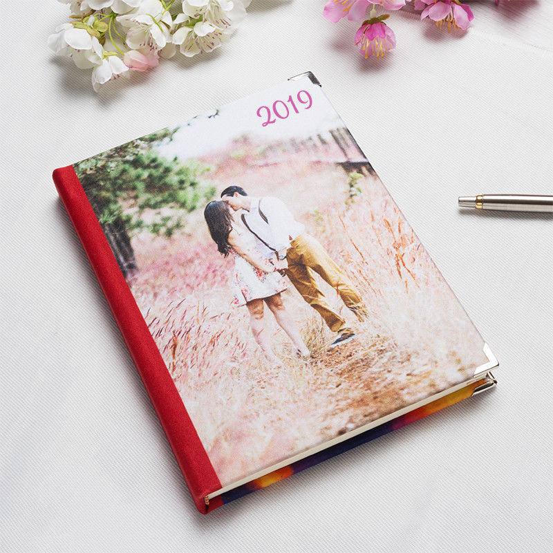 Custom Daily Planner Photo Diary Custom Printed - Custom daily planner