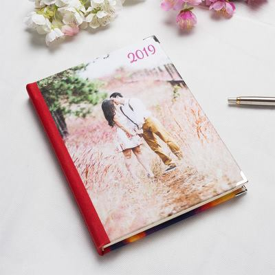 print personalized diary 2018 with photos