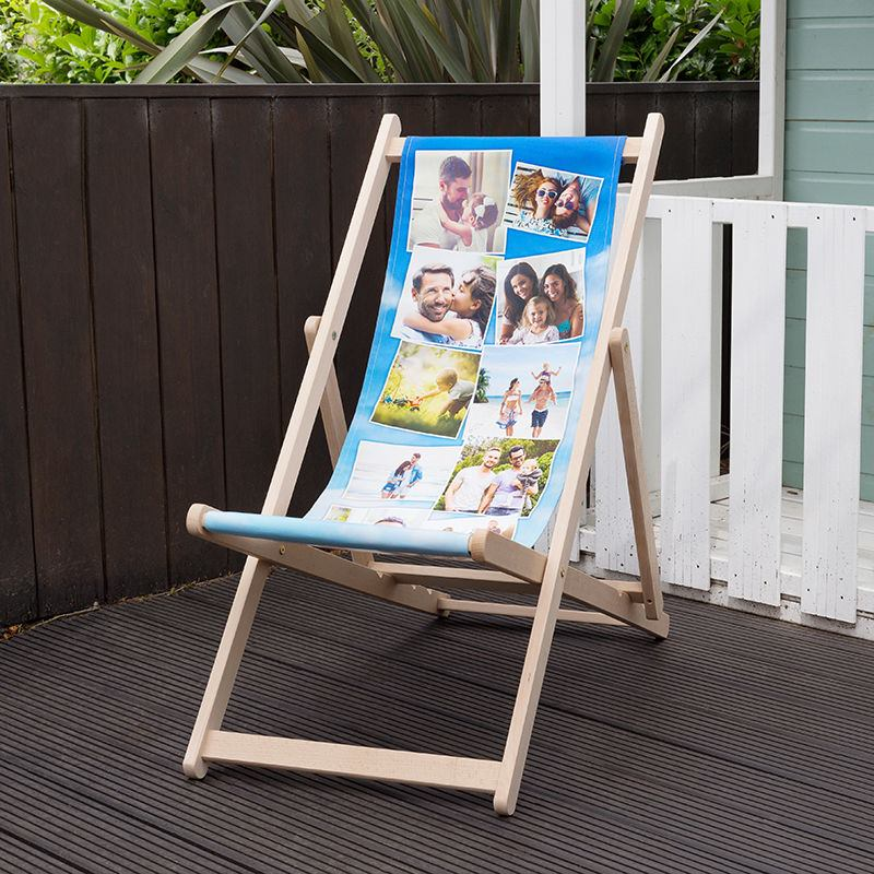 Personalised Deck Chair Photo Montage Design