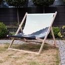 Designer pattern deckchair printed image