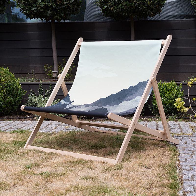 Personalised Double Deckchair. Wideboy Deckchair UK