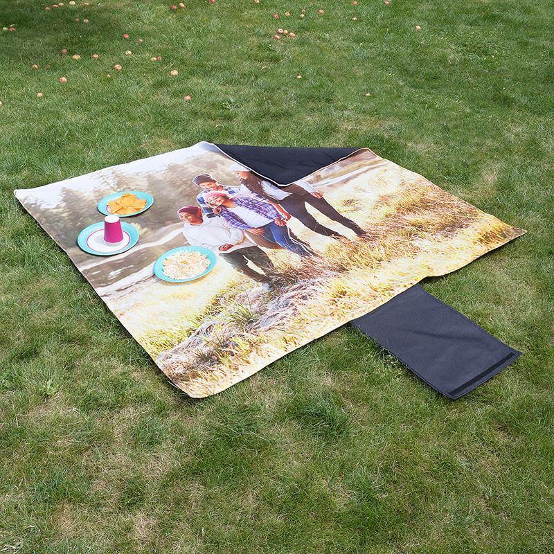 Manta para picnic personalizada manta camping con foto impermeable - Manta de picnic ...