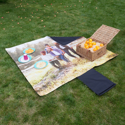 Gepersonaliseerde waterproof picnic deken