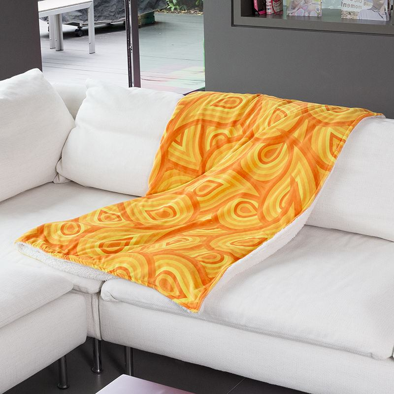 Custom Sofa Throws Printed For
