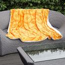 printed throws for outdoor sofas