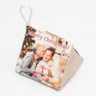 Merry Christmas weight door stop personalised image