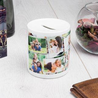 Montage printed money pot