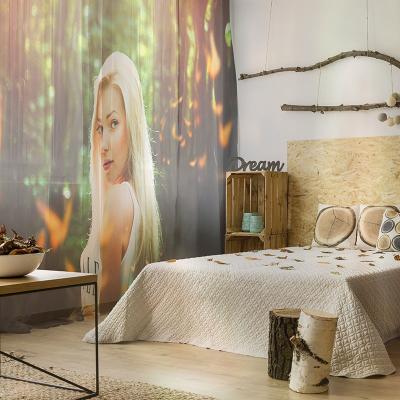 cortinas transparentes para decoración personalizada